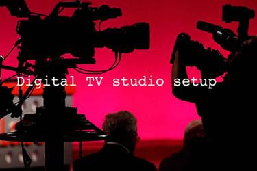 Digital TV Studio Setup